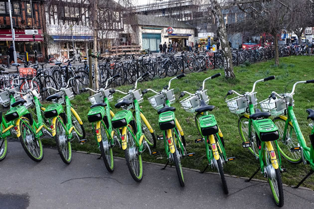 Lime Bikes are to be the main operator in Ealing borough